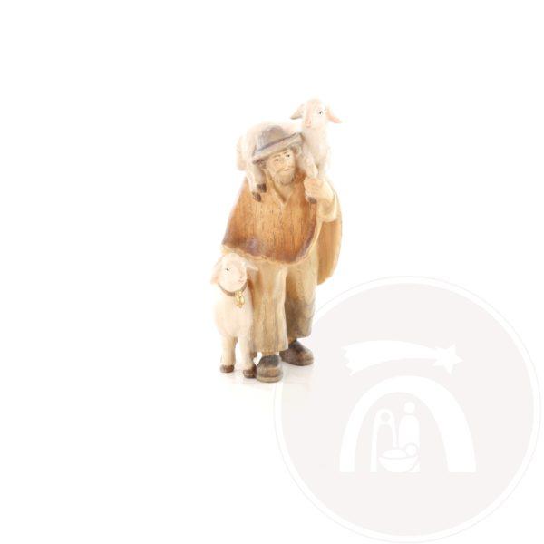Herder met schaap en lam op schouder (795045)