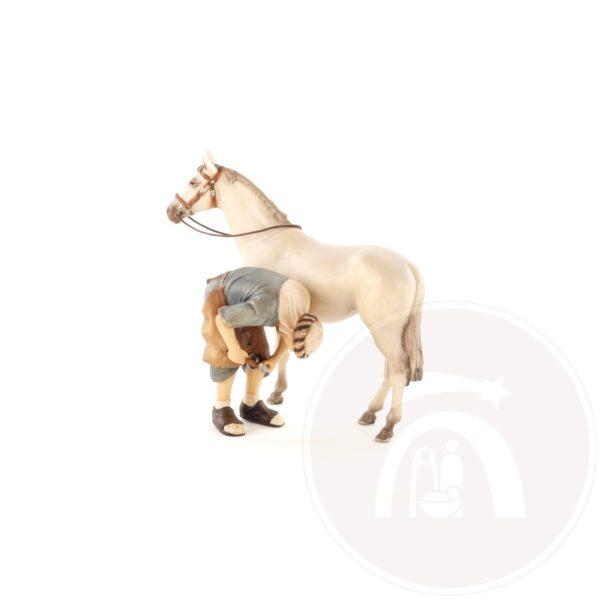 Hoefsmid met paard (10601-239)