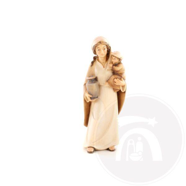Vrouw met kruik en kind op arm (4519)